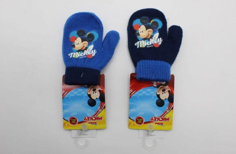 Mickey kötött 2 ujjas kesztyű