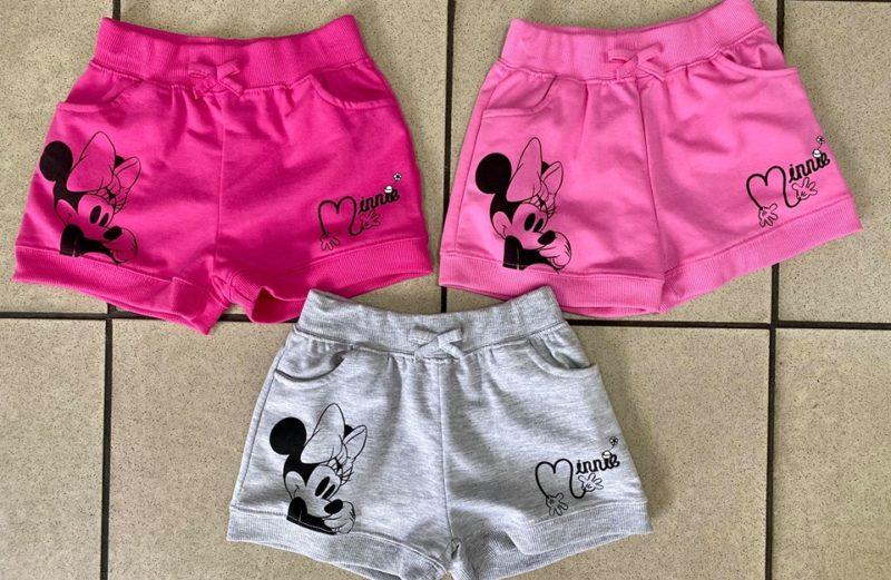 Minnie pamut rövidnadrág