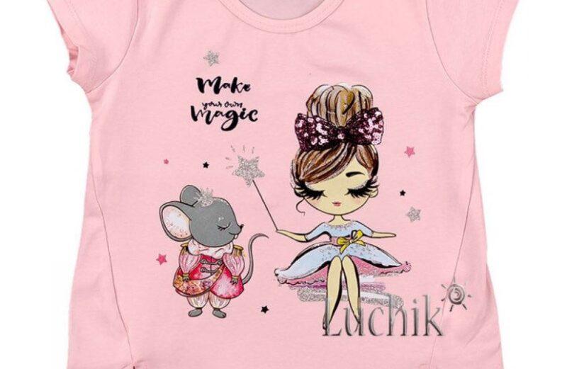 Kislány pamut póló